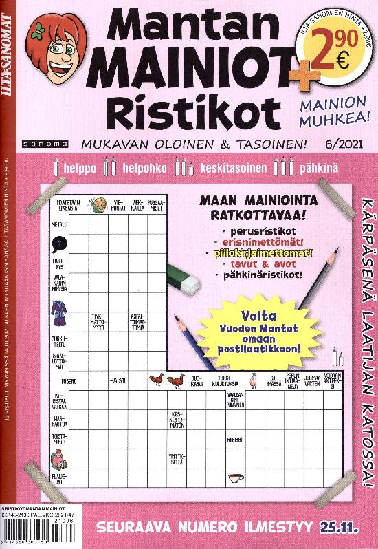 IS Ristikot Mantan Mainiot Ristikot 6/2021