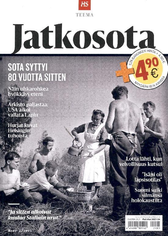 Ilta-Sanomat Teema Historia Nro: 2/2021 Jatkosota