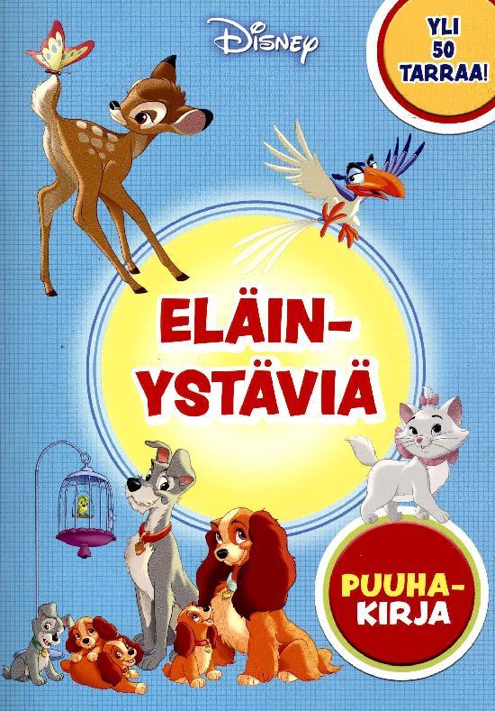 Walt Disney Puuhakirja Disney Eläinystäviä YLI 50 TARRAA!