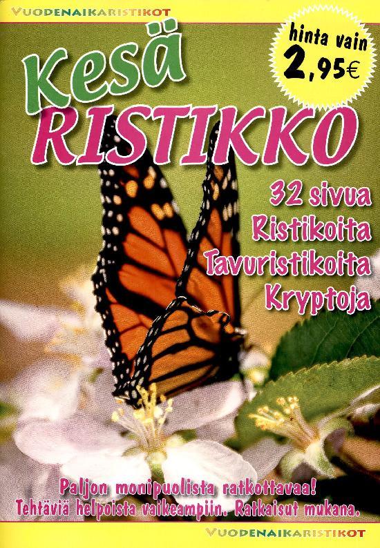 Vuodenaikaristikot -kirja Kesäristikko 2/2021