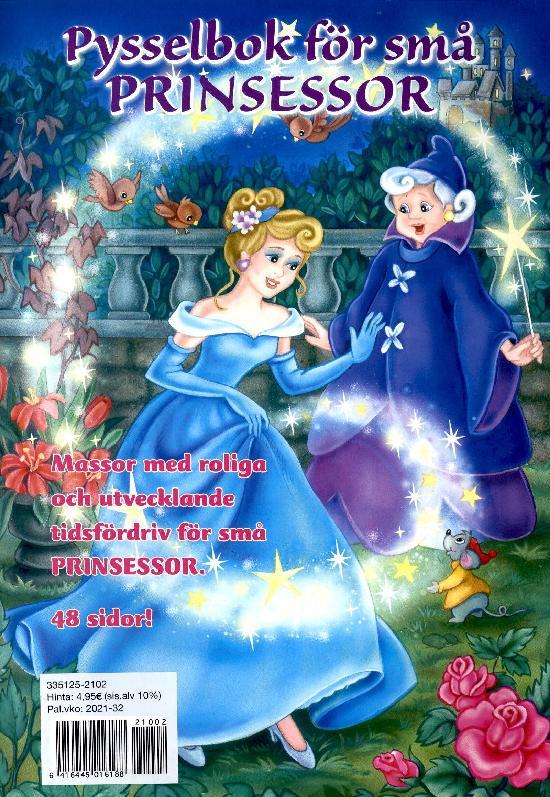 Barnens pyssel & knåp Pysselbok för små prinsessor 2/2021