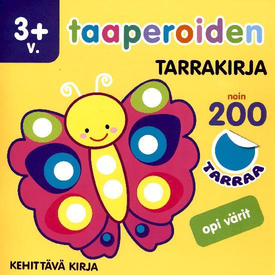 Taaperoiden tarrakirja 2/2021 Opi värit