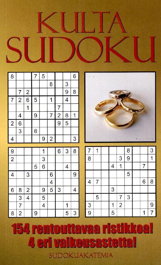 Sudoku Akatemia -pokkari 2104