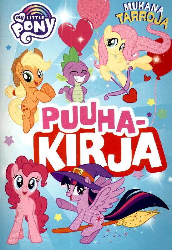 Tarrakirja (Egmont) My Little Pony Puuhakirja 2021