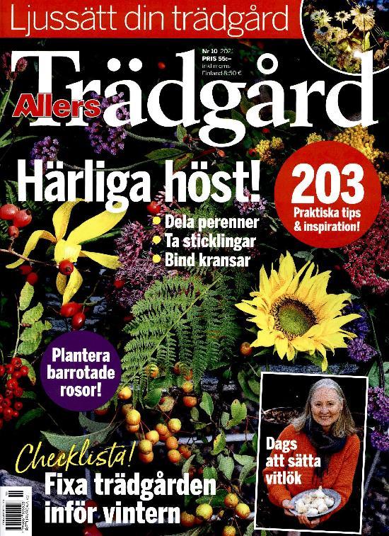 Allers Trädgård Nr 10 2021 Härliga höst!