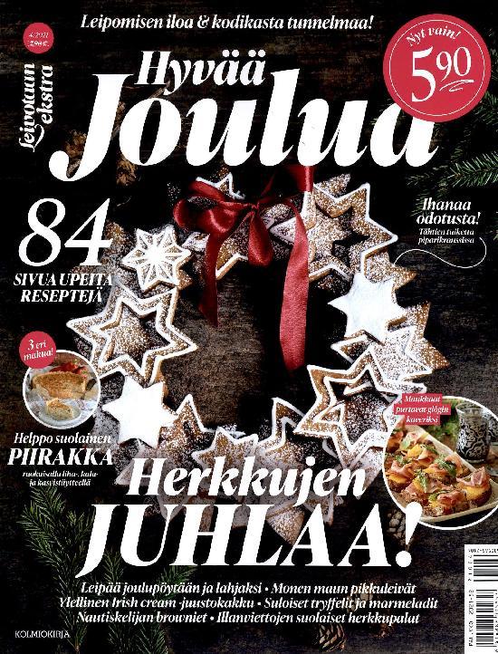Leivotaan Ekstra 4/2021 Hyvää Joulua