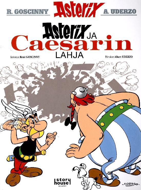 Asterix -sarjakuva-albumi 02 - 2021 Asterix ja Caesarin lahja