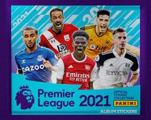 Premier League -keräilytarrat 1/2020 Official sticker collection