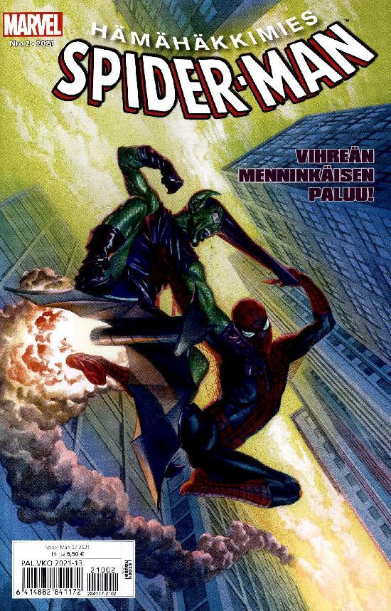 Spider-Man (suom.) Nro 2 2021 Vihreän menninkäisen paluu!
