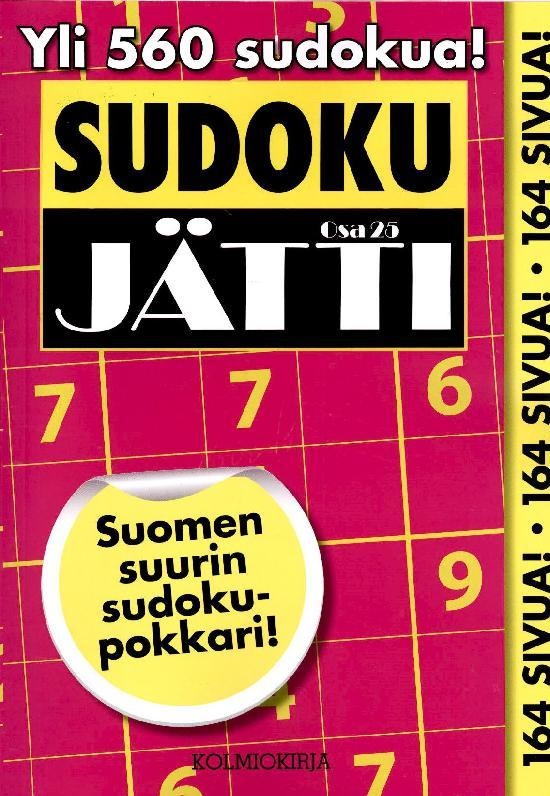 Sudoku-Jätti Osa 25 1/2021