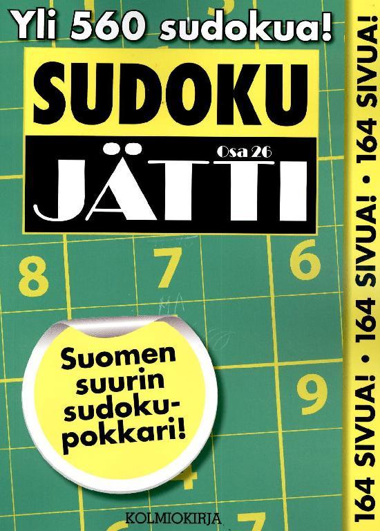 Sudoku-Jätti Osa 26 2/2021