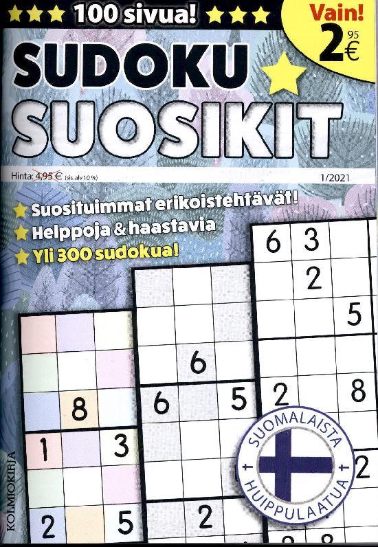 Sudoku-Suosikit 2101