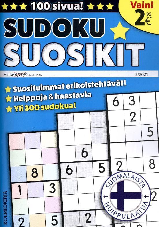 Sudoku-Suosikit 2105