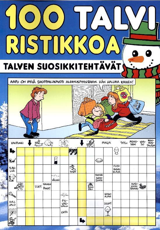 100 Ristikkoa 1/2021 TALVIRISTIKOT
