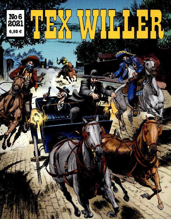 Tex Willer No 6 2021