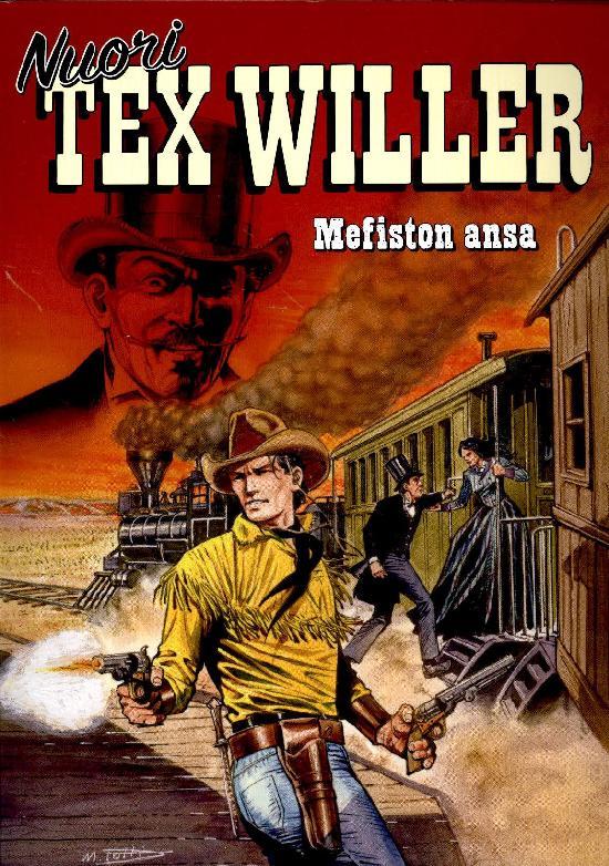 Nuori Tex Willer 01-2021 Mefiston ansa