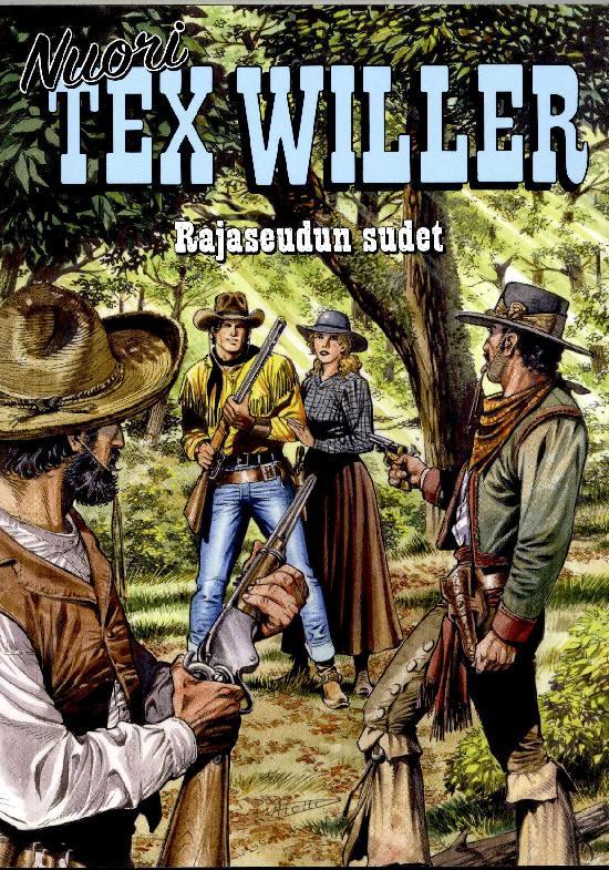 Nuori Tex Willer 04-2021 Rajaseudun sudet