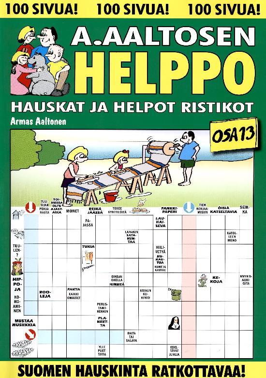 A.Aaltosen Helpot ja Hauskat Ristikot OSA 13 2021