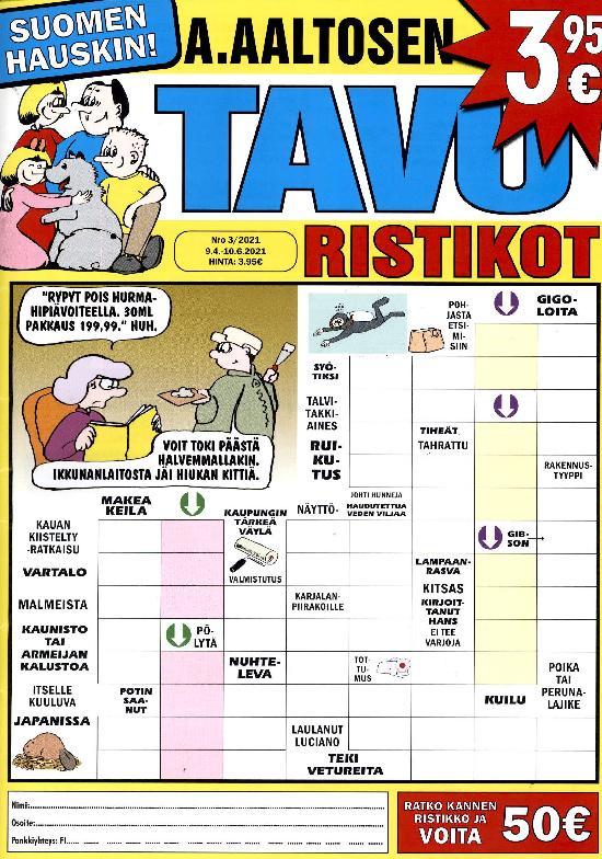 A.Aaltosen Tavuristikot 2103