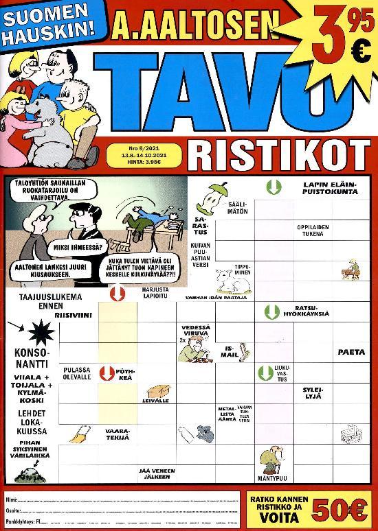 A.Aaltosen Tavuristikot 2105