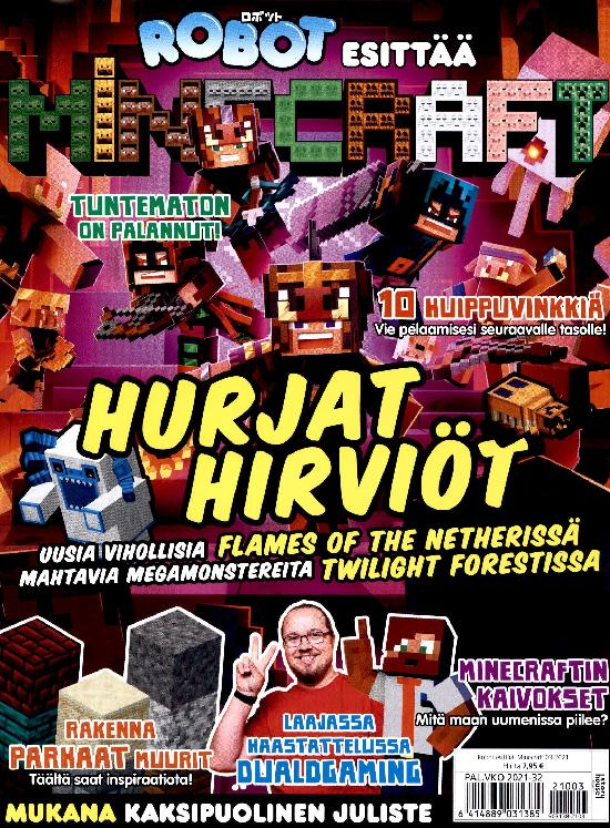 Robot esittää: Minecraft 2103