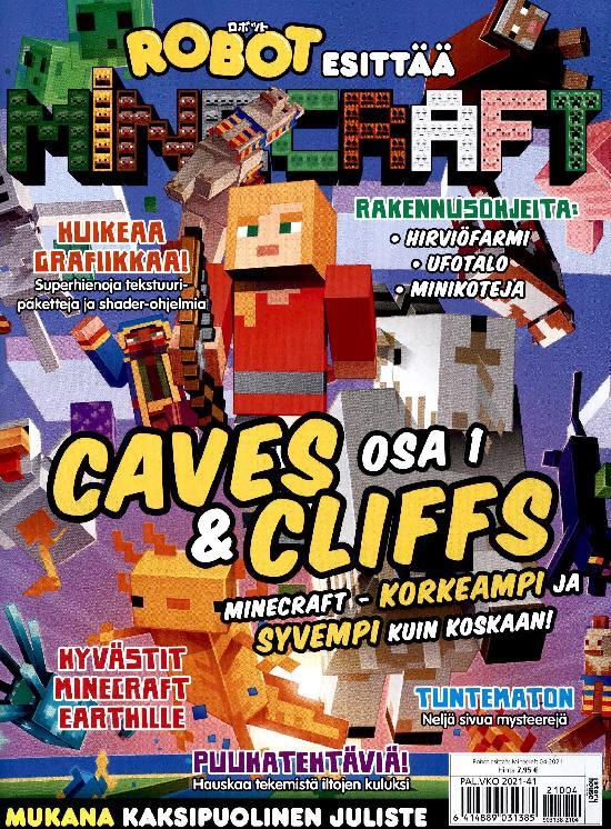 Robot esittää: Minecraft 2104