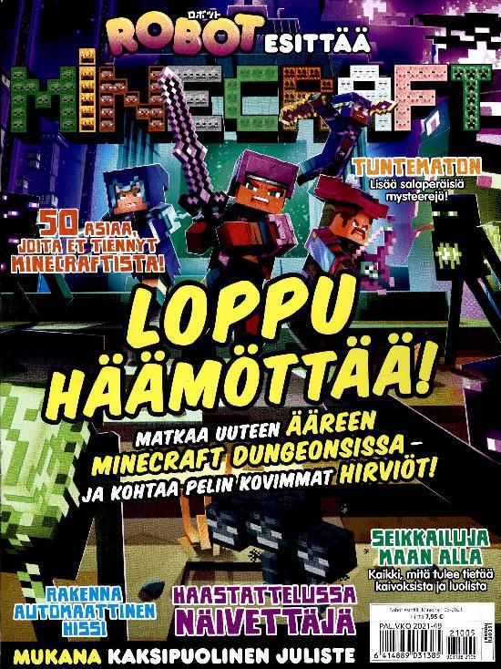 Robot esittää: Minecraft 05-2021