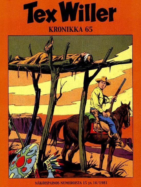 Tex Willer Kronikka 02-2021 Näköispainos numeroista 15 ja 16/1981