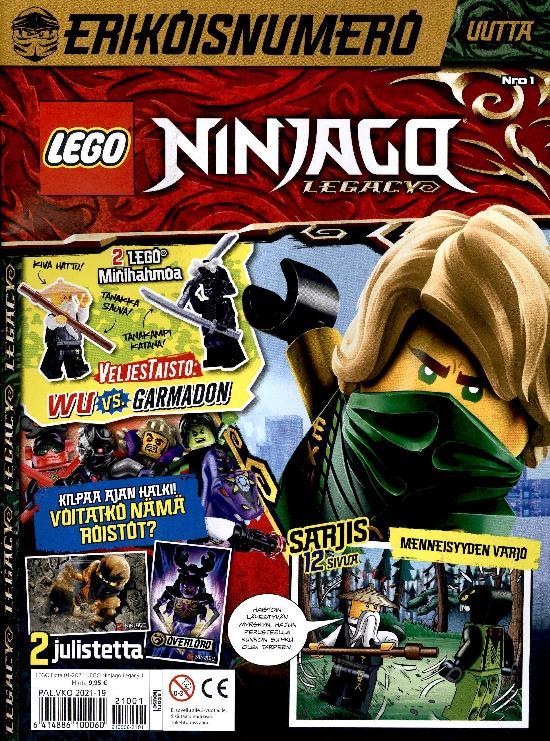 Lego Extra 01-2021 Ninjago Legacy ERIKOISNUMERO