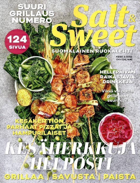 Salt & Sweet KESÄ 2/2021 SUURI GRILLAUS NUMERO