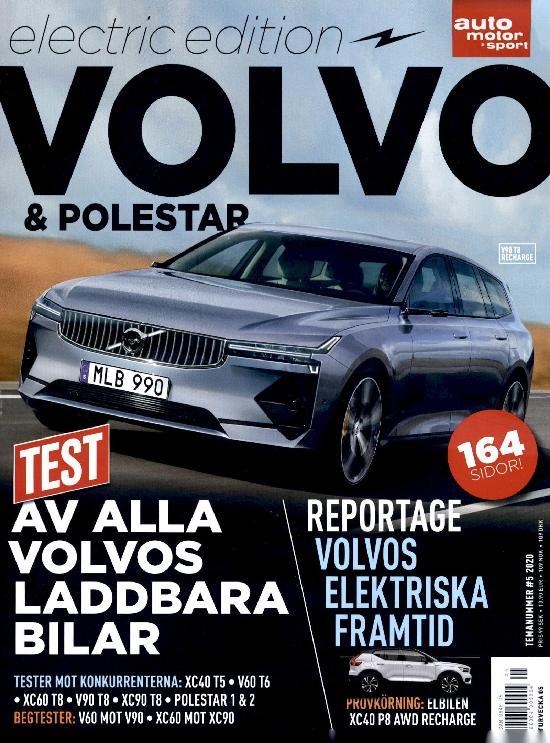 Auto Motor & Sport (Swe) Electric edition Volvo & Polestar