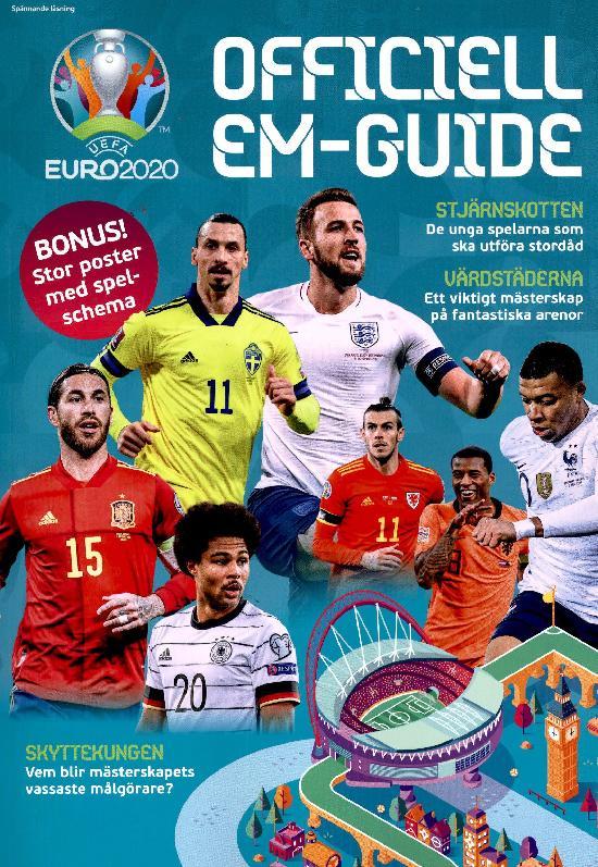 Spännande Läsning EURO 2020 Officiell EM-Guide