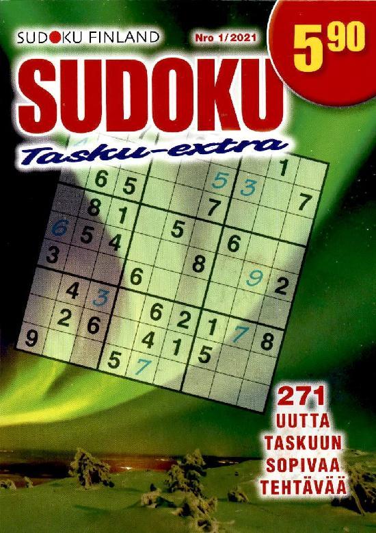 Sudoku Tasku-Extra Nro 1/2021
