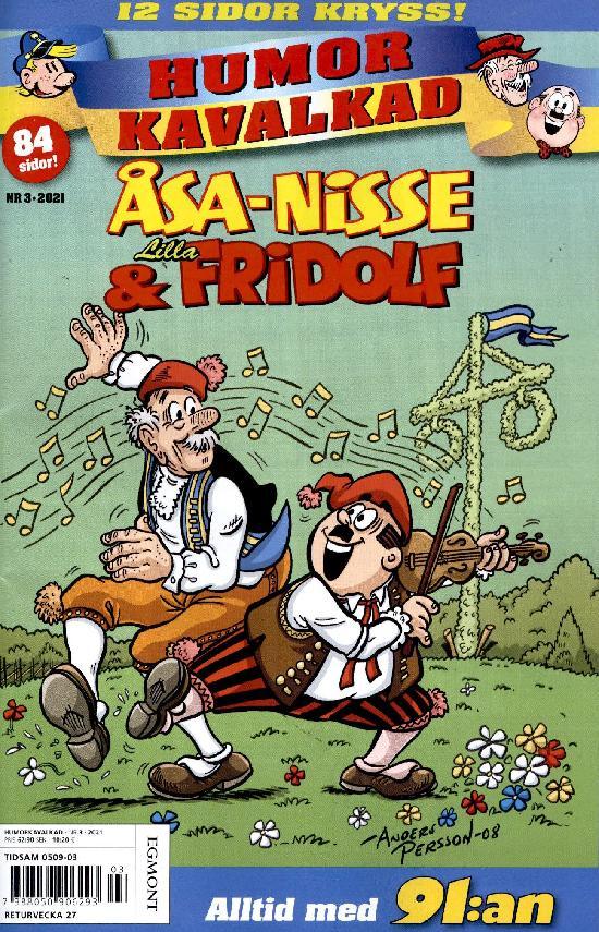 Humorkavalkad NR 3 2021 Åsa-Nisse & Lilla Fridolf