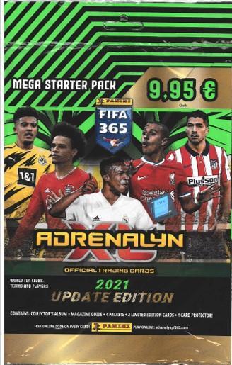 Panini FIFA 365 Adrenalyn XL Update aloituspakkaus (jalkapallokortit)