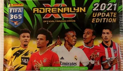 Panini FIFA 365 Adrenalyn XL Update -jalkapallokortit 1/2021 Update Edition