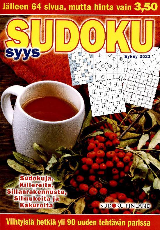 Sudoku Ristikkolehti
