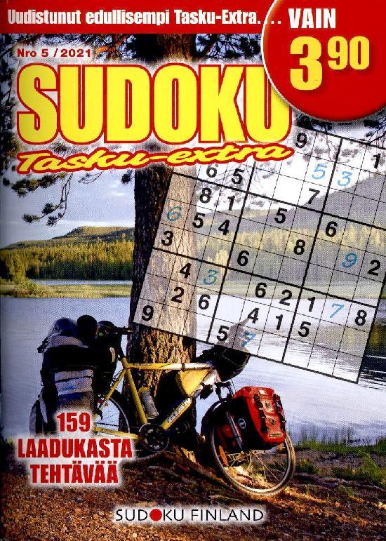 Sudoku Tasku-Extra Nro 5/2021