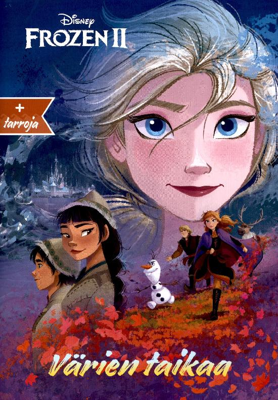 Walt Disney Puuhakirja Frozen 2 Värien taikaa