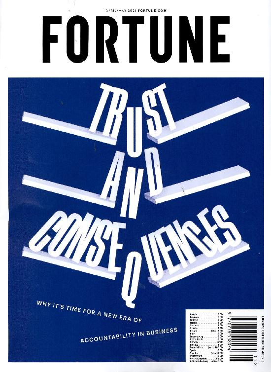 Fortune APRIL/MAY 2021 Trust and consequences