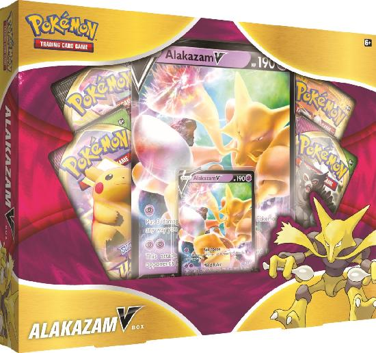 Pokemon V Box Alakazam V