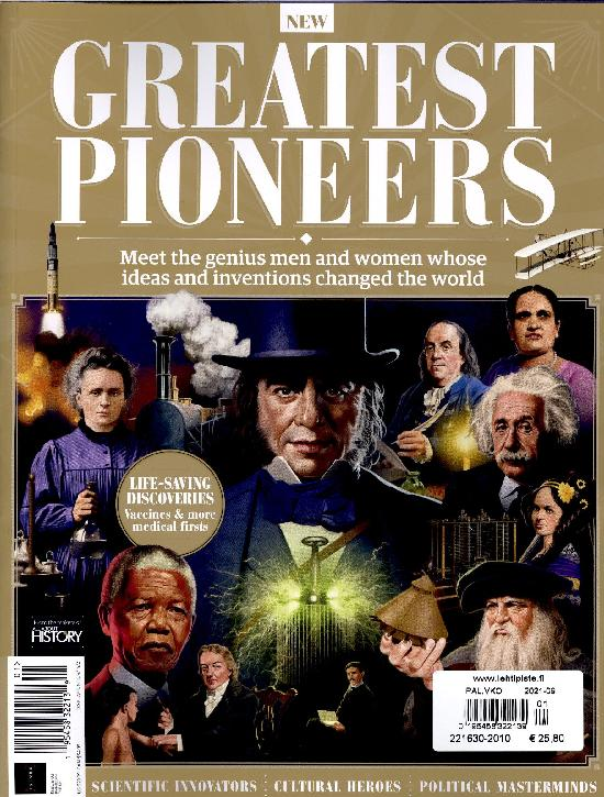 All about History Bookazine The Greatest Pioneers
