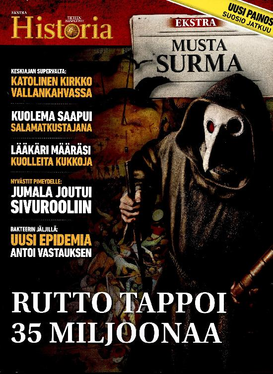 Tieteen Kuvalehti Historia Extra MUSTA SURMA
