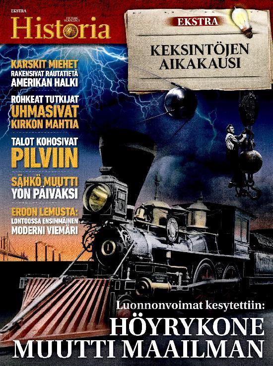 Tieteen Kuvalehti Historia Extra KEKSINTÖJEN AIKAKAUSI 2021