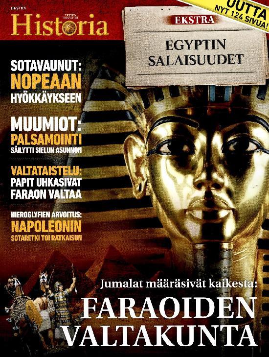 Tieteen Kuvalehti Historia Extra EGYPTIN SALAISUUDET 2021