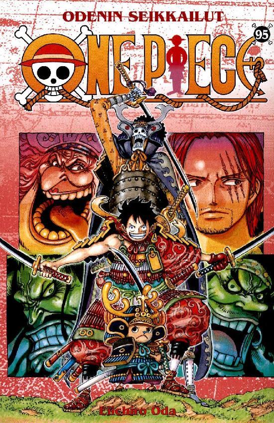 One Piece -sarjakuvakirja 95 2020 Odenin seikkailut