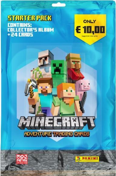 Minecraft-aloituspakkaus (kortit) STARTER PACK 1/2021