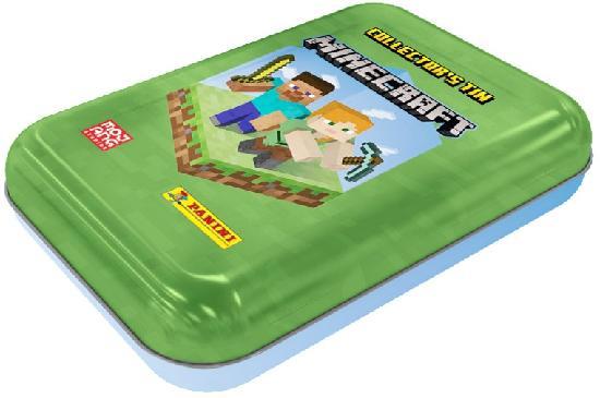 Minecraft-Tasku metallirasia (kortit) 1/2021 Mini collector's tin ADVENTURE TRADING CARDS
