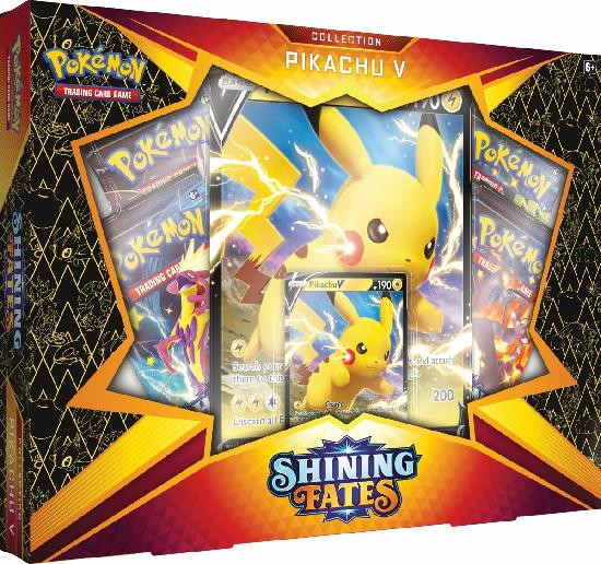 Pokemon V Box Shining Fates Collection-Pikachu V