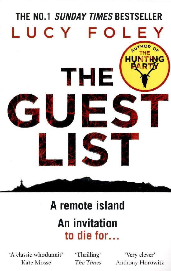 Foley, Lucy: The Guest List